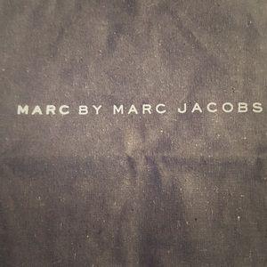 "Marc by Marc Jacobs Dust Bag Black 15x13.5""."